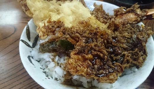 柴又の天丼屋「大和」の天丼は食べやすいので胃もたれ胸焼け心配なし!