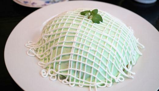 西銀座デパートにある喫茶店ブリッヂでメロンパンケーキの中身をじっくり見てみた