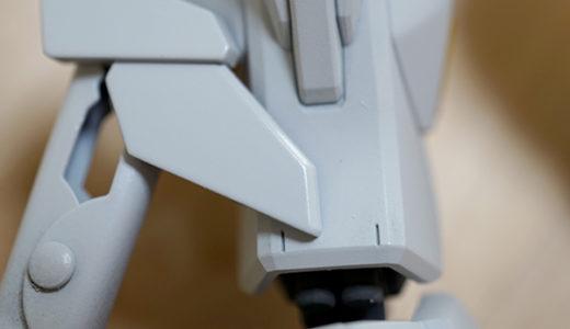 【ガンプラ初心者用】成型色が白いパーツをキレイに塗装する方法