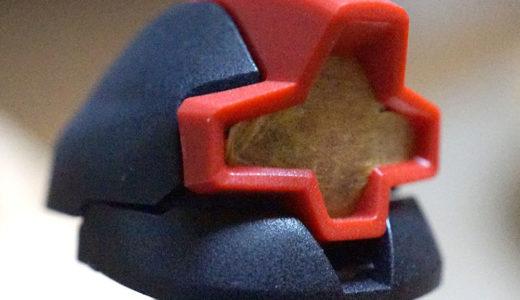 塗装しないガンプラ、ヤスリ表面処理はつや消しトップコートでどれくらい消える?