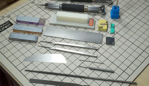 ガンプラで苦手な武器製作が楽しくなったよ!14個も道具揃えたけどね