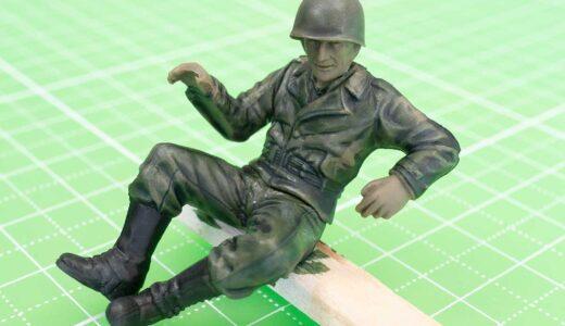 シタデルカラー筆塗りの真骨頂!軍人さんに現役バリバリ感をだしてみる!